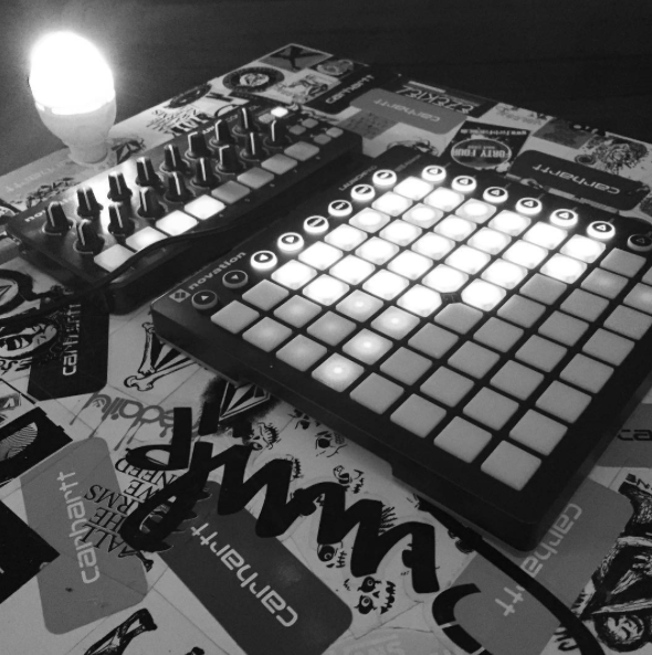 black and white Launchpad